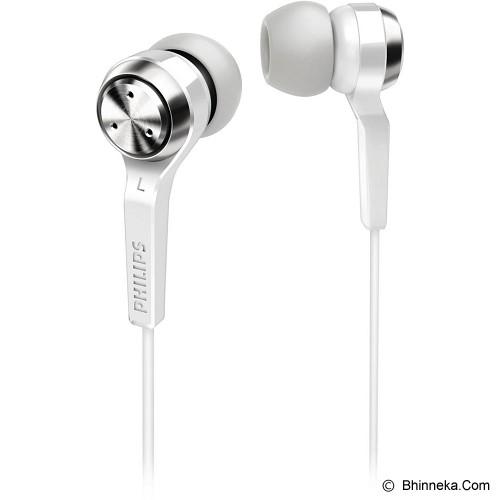 PHILIPS In Ear Phone [SHE 8500/98] - White - Earphone Ear Monitor / Iem